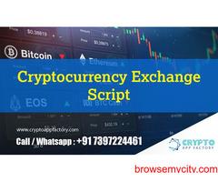 Cryptocurrency Exchange Script-Crypto App Factory