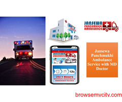 Get Ambulance Service in Kapshera with Very Fine Medical Care