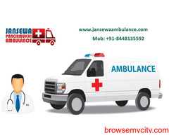 Take Ambulance Service in Pitampura with Modern Medical Setup