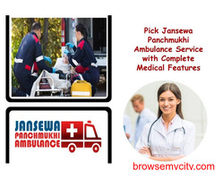 Book Ambulance Service in Vasant Kunj with the Best Medical Solution