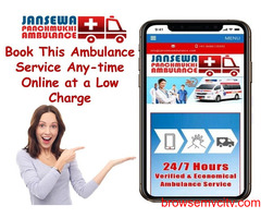 Select Ambulance Service in Vasant Vihar with Top Medical Team