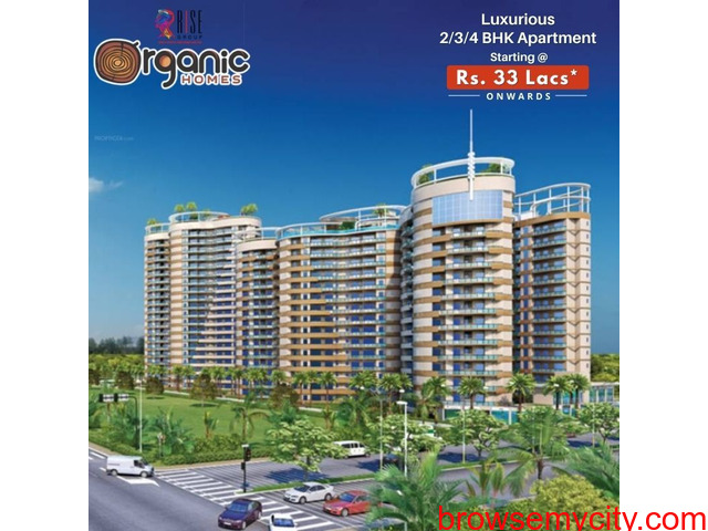 Buy Rise Organic Homes with price starting from Rs. 30 lacs* - 1/1