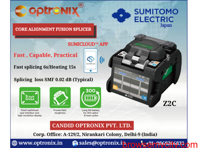 Splicing Machine for Telecom Industry - 1/3