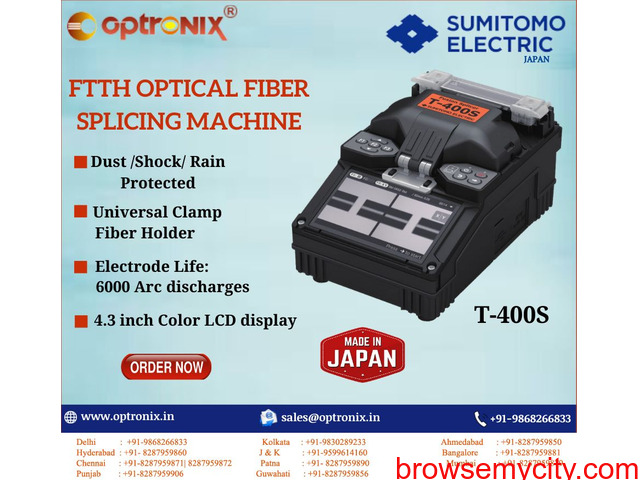 Splicing Machine for Telecom Industry - 3/3