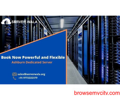 Book Now Powerful and Flexible Ashburn Dedicated Server