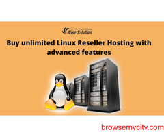 Buy unlimited Linux Reseller Hosting with advanced features