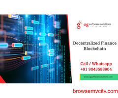 Decentralized Finance Blockchain-OG software solutions