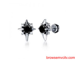 Diamond Stud Earrings for men