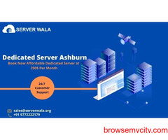 Order Now Powerful and Secure Dedicated Server in Ashburn