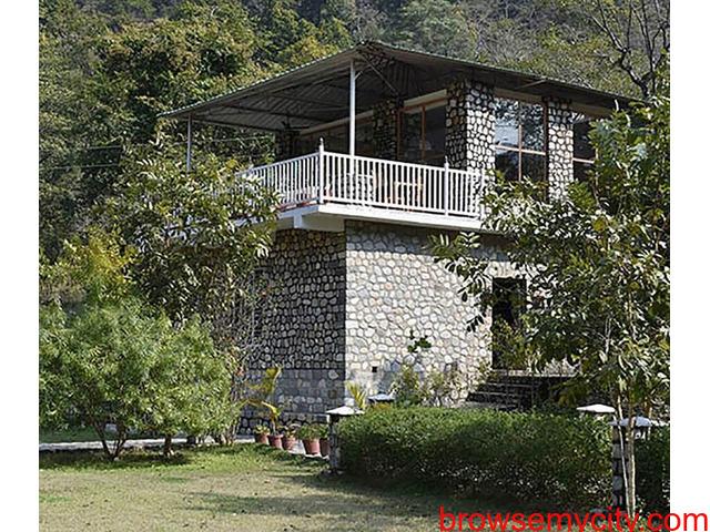 Best Riverside Resort in Jim Corbett | The Wild Heritage Resort Jim Corbett - 1/2