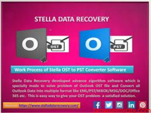 Microsoft ost to pst converter software - 1/1