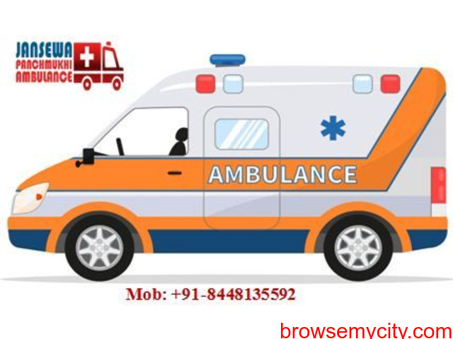 Book Loyal and quickest Ambulance service in Hajipur - 1/1
