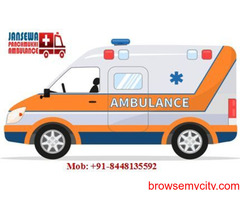Book Loyal and quickest Ambulance service in Hajipur