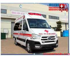 Hire Ambulance Service in Gandhi Maidan at a valuable cost