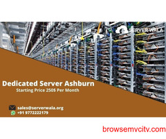 Order Now 100% Uptime Guarantee Dedicated Server in Ashburn