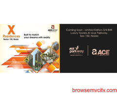 Buy Ace X Residences 3BHK apartments in Noida! Call 9266850850