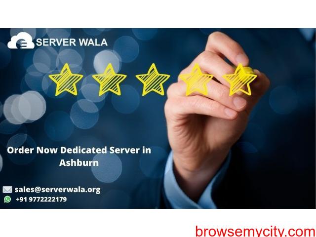 Get Reliable Dedicated Server Ashburn at Low Price on Serverwala - 1/1