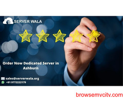 Get Reliable Dedicated Server Ashburn at Low Price on Serverwala