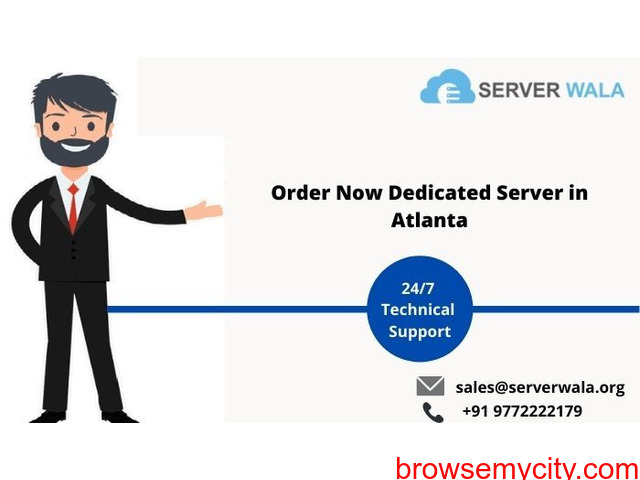 Get Massive Dedicated Server Atlanta at Cheap Price on Serverwala - 1/1