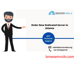 Get Massive Dedicated Server Atlanta at Cheap Price on Serverwala