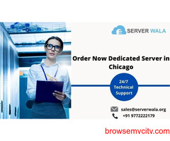 Order Now Dedicated Server in Chicago and Grow Your Business