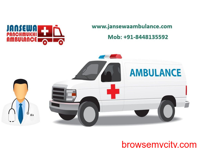 Choose Advanced Ambulance Service in Gaya with Credible Medical Services - 1/1