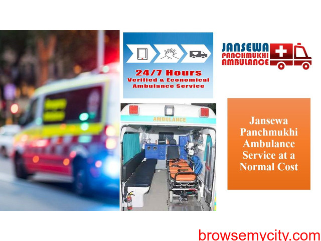 Take Advantage of Ambulance Service in Darbhanga with Fabulous Medical Support - 1/1