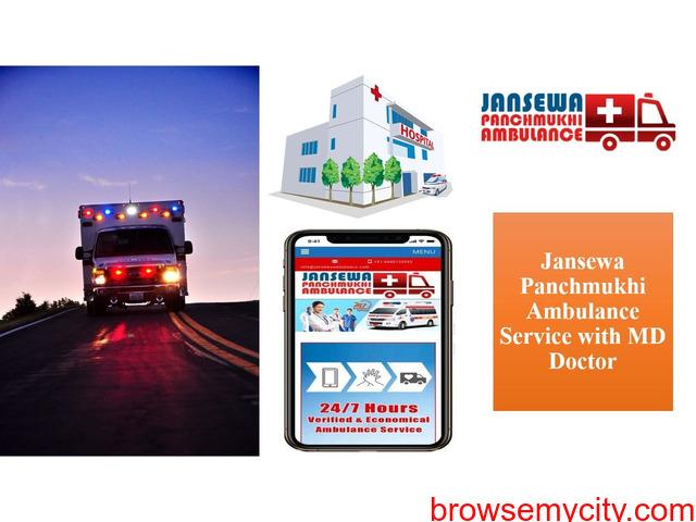 Use Ambulance Service in Muzaffarpur with Unique Medical Support - 1/1