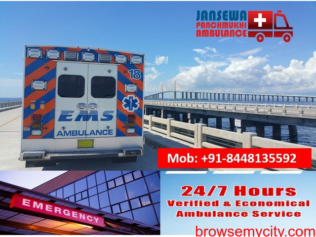 Choose Ambulance Service in Katihar on a Low-Budget - 1/1