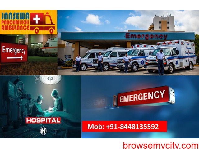 Take Benefit of Ambulance Service in Bhagalpur with Responsible Medical Staffs - 1/1