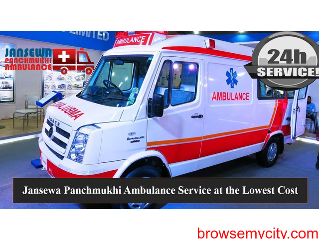 Pick Ambulance Service in Adarsh Nagar with Advanced Medical Tools - 1/1