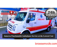 Pick Ambulance Service in Adarsh Nagar with Advanced Medical Tools