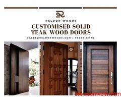 Teak Wood Door, Solid Wood Doors - Reldorwoods