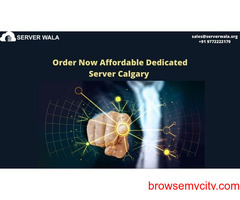 Order Now Affordable Dedicated Server Calgary on Serverwala