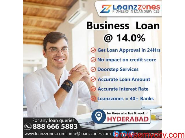 Apply Business Loan in Hyderabad - 1/1
