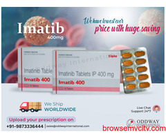 Imatib 400 mg Tablet wholesale cost in India