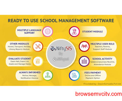 Student Can Continue Learning At Home Using Nifty SIS – online school management software