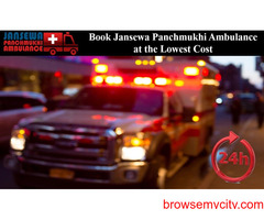 Choose Ambulance Service from Dhanbad to Ranchi with the Finest Care