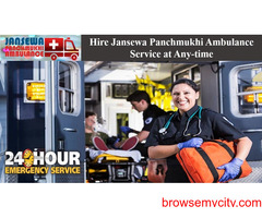 Use Ambulance Service in Janakpuri with Specialist MD Doctors