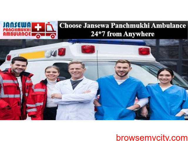 Utilize Ambulance Service in Pitampura with Responsible Healthcare Expert - 1/1