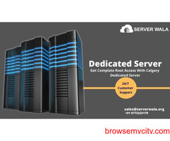 Order Our Dedicated Server in Calgary at Cheap Price - Serverwala