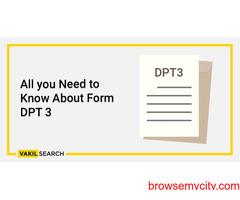 DPT 3 Filing
