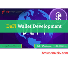 Decentralized Finance(DeFi)Wallet development-OG software solutions