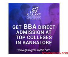 Best BBA Colleges in Bangalore | Galaxy Educational Services