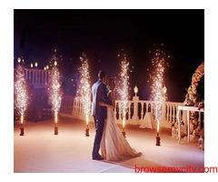 Best Fireworks Services Near Delhi | Sparklers at a Wedding