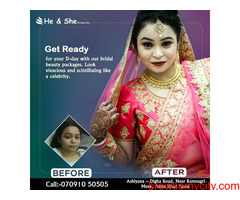 vlcc bridal makeup in patna