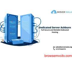 Book Now Fastest Dedicated Server Ashburn at Cheap Price- Serverwala