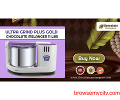 Buy Ultra ChocoGrind - Chocolate Melanger - Refiner Factory Price Only