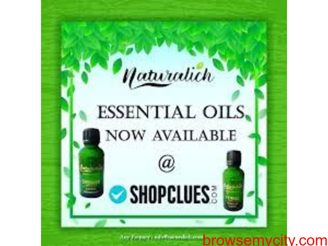Naturalich : Manufacturer and Supplier Natural Oils from India - 1/1