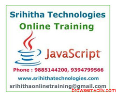 JavaScript Online Training India